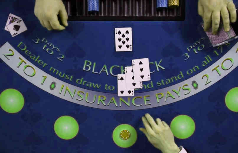 peluang blackjack