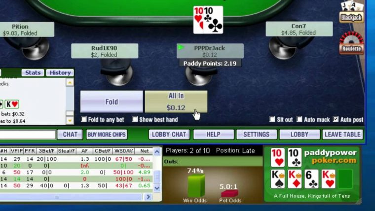 Poker hand calculator
